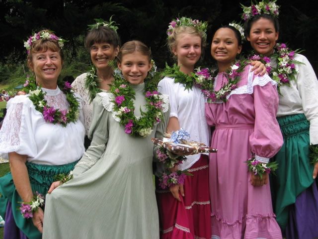 21st Annual Eo Emalani i Alaka`i Festival in Kokee