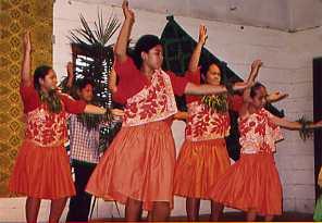 """Hoike of """"Pohaka La I Hula Alapa`i `O Ka Lani"""" in Samoa 2003"""