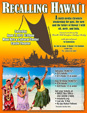 Recalling Hawai'i – Maui Performance
