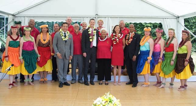 Ka 'Imi in Geneva: Reception at the U.S. Mission Independance Day 2015