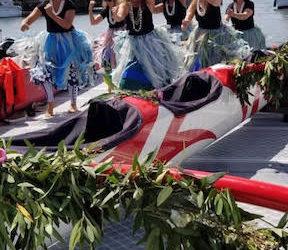 He'e Nalu Canoe Blessing